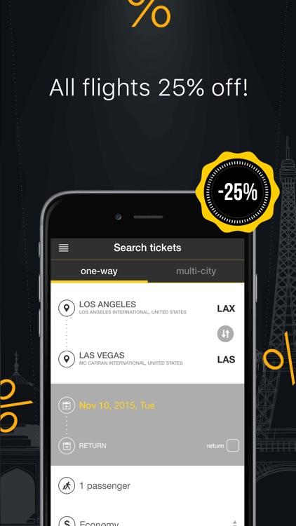 Cheap Flight Finder & Tickets screenshot-4
