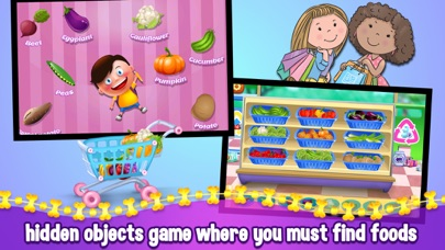 Kids Supermarket Shopping Adventure - Learn Fruits & Vegetables screenshot four