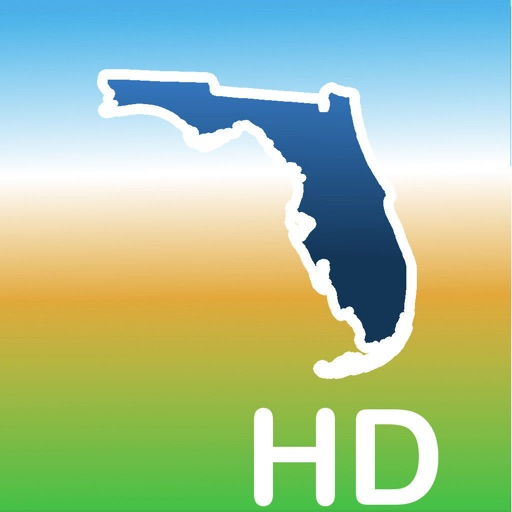 Aqua Map Florida Lakes GPS HD