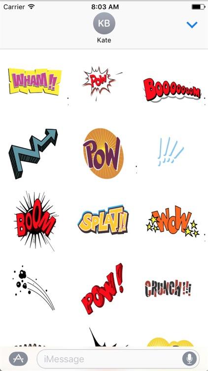 Comic Stickers HD