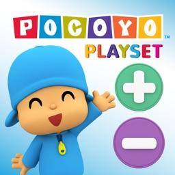 Pocoyo Playset -  Math Fun Park