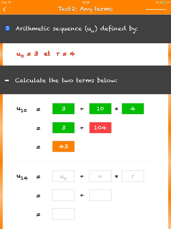 Arithmetic Sequences screenshot-3