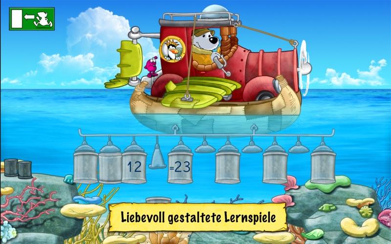 Deutsch und Mathe 2. Klasse: Emil und Pauline in der Tiefsee - Rechnen und Lesen für die Grundschule screenshot 1