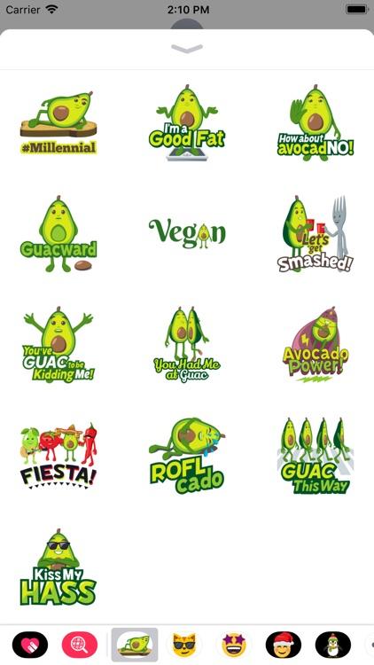 Avocado Adventures by EmojiOne screenshot-3