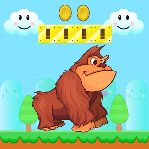 Super Kong - Monkey Adventure Free iOS App