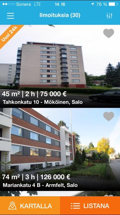 myytävät asunnot kankaanpää Porvoo