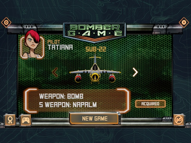 Bomber Game, game for IOS