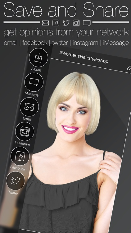 Women's Hairstyles - Try on a new style screenshot-4