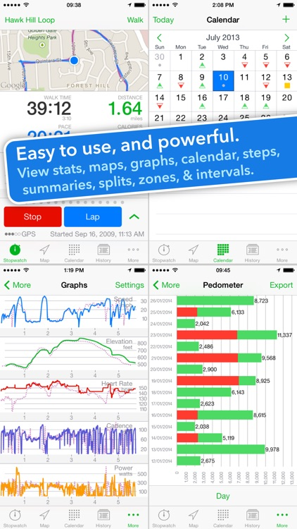 Walkmeter Walking & Hiking GPS screenshot-1