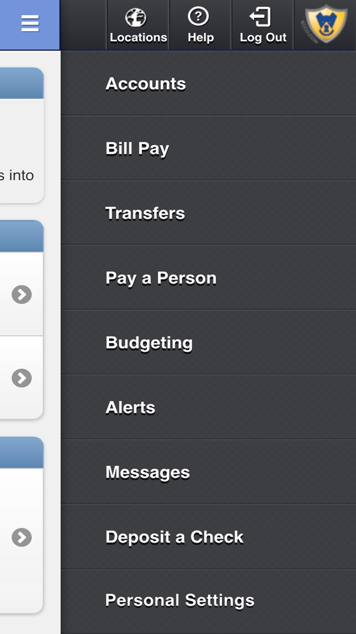 Space Coast Credit Union Mobile Screenshot