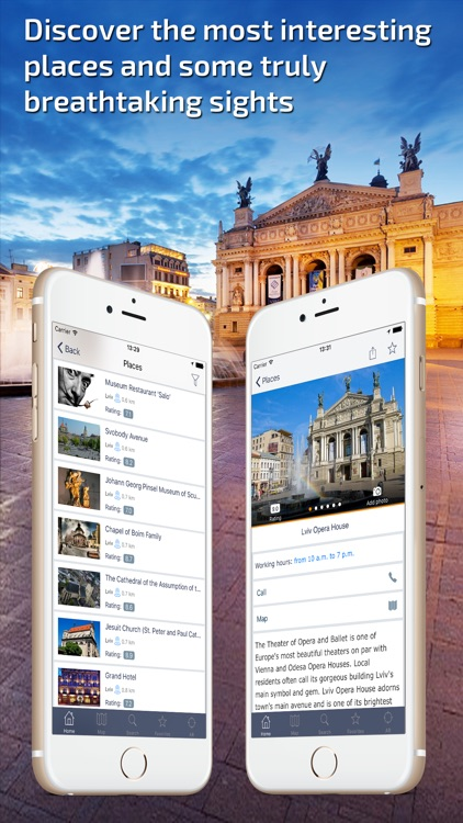 Lviv Travel Guide & offline city map