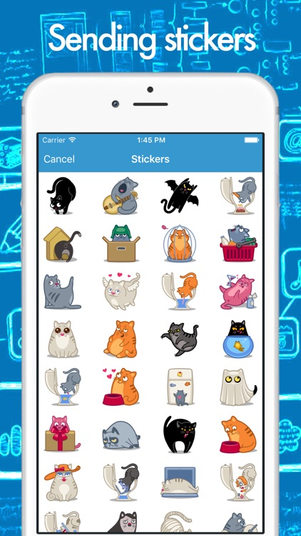 CHATeau - smart messenger with group chats screenshot-3