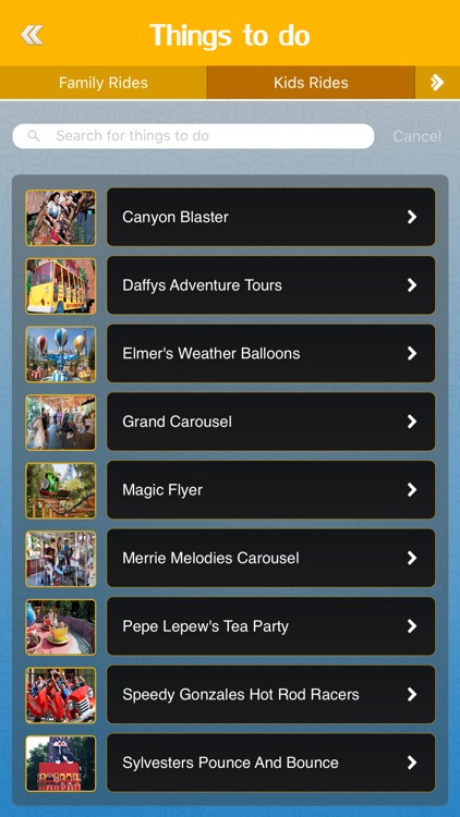 Great App for Six Flags Magic Mountain