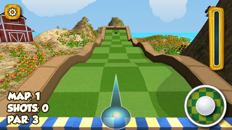 Impossible Crazy Mini Golf : Open Fun Minigolf