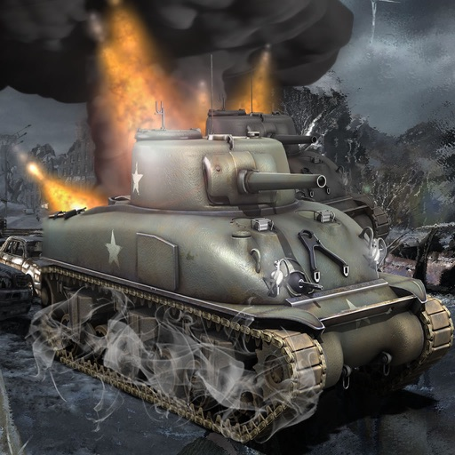 Crazy War Of Tanks In Competition - Fun Defender Duty Game icon