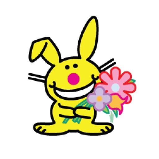 It's Happy Bunny Stickers