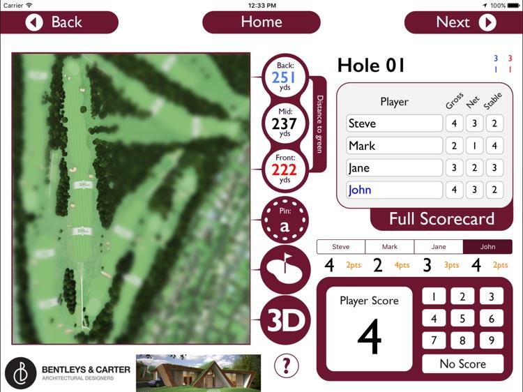 Banstead Downs Golf Club - Buggy