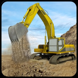 Big Rig Excavator Crane Operator & Offroad Mining Dump Truck Simulator Game