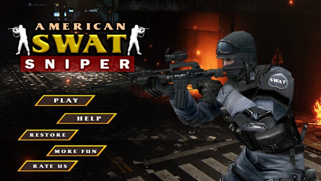 Francotirador de Swat americano juego de disparos - escuadrón de ...