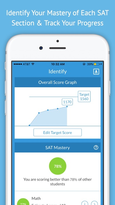 SAT Up - New SAT Test Prep and Tutoring Screenshot