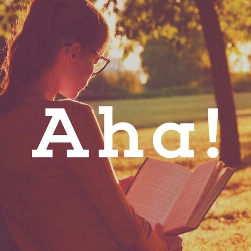 Aha![アハ]-脳トレとアハ体験で頭を柔らかくする無料IQゲーム-