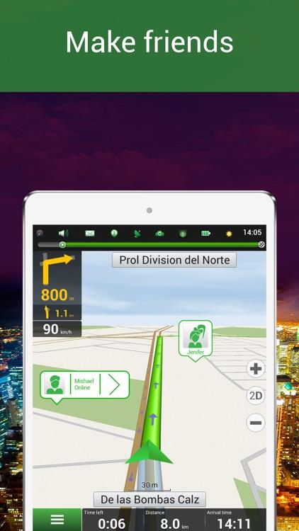 Navitel Navigator Mexico screenshot-3