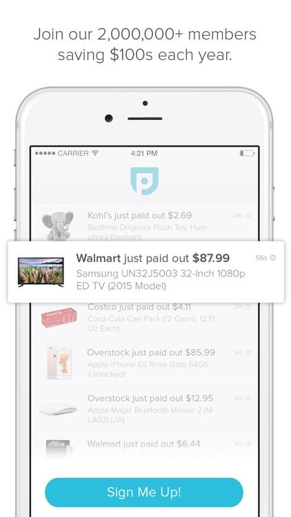 Paribus: Money Back Shopping