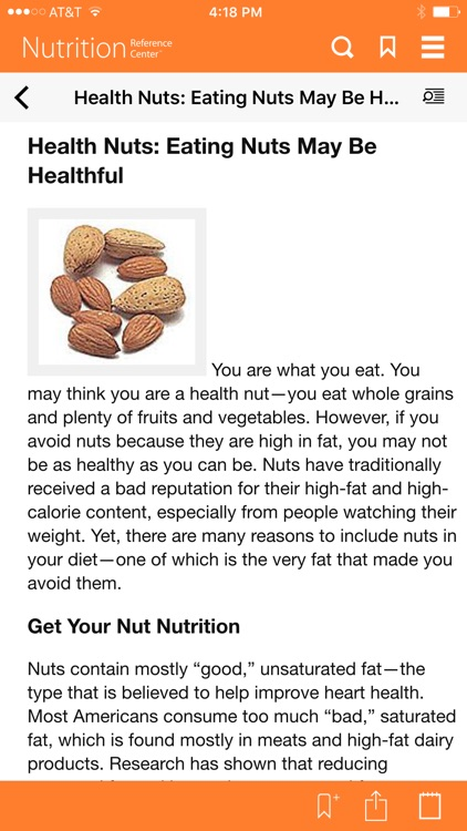 Nutrition Reference Center screenshot-3