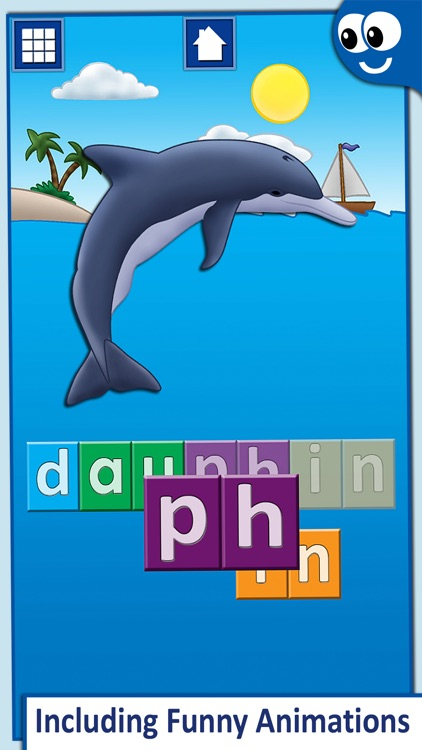 French First Words with Phonics: Kids Preschool Spelling & Learning Game screenshot-3