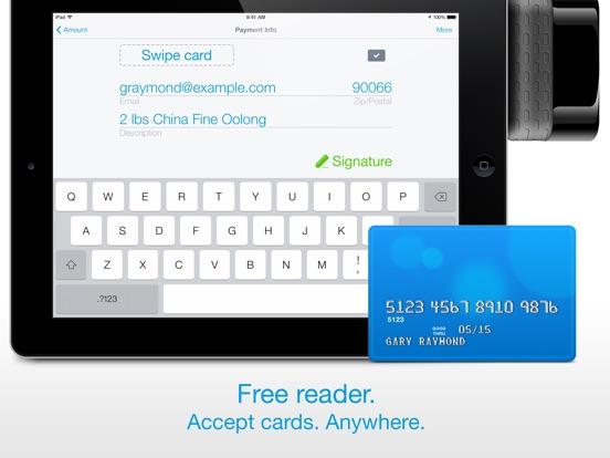 Screenshots for Credit Card Terminal & Reader
