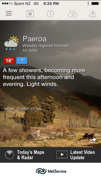 MetService Rural Weatherのおすすめ画像1