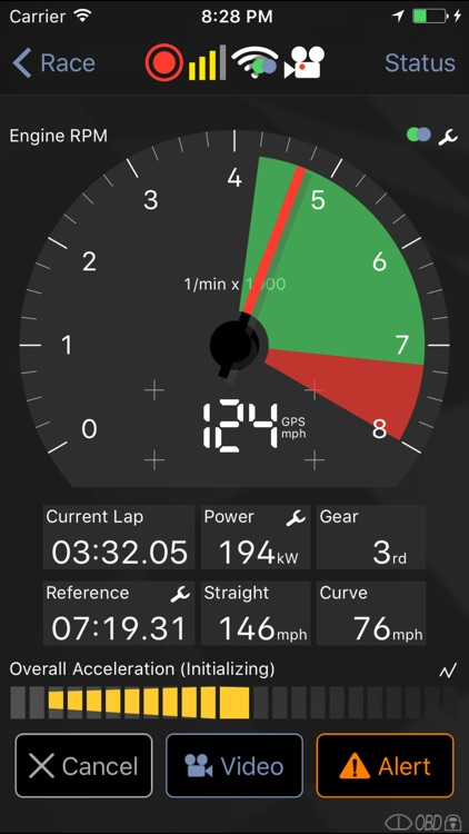 Harry's LapTimer Petrolhead app image