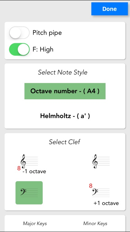 VoiceMyNote - Play tones by tapping the note sheet screenshot-2