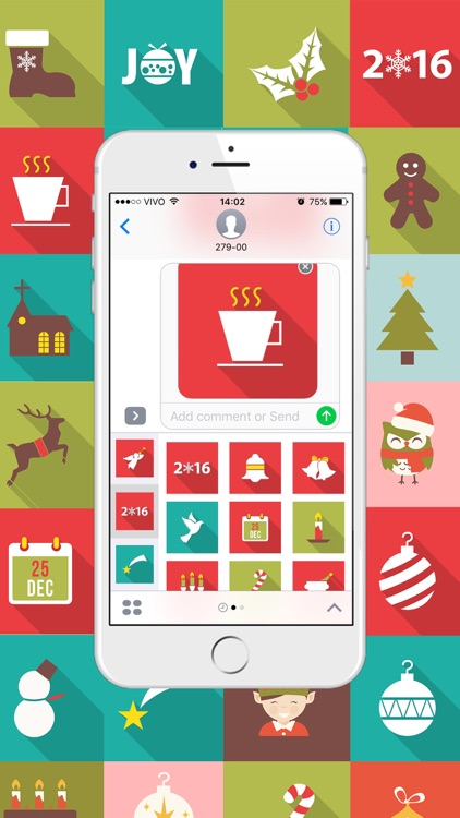 Xmas Stickers - Christmas Moji for iMessage screenshot-4