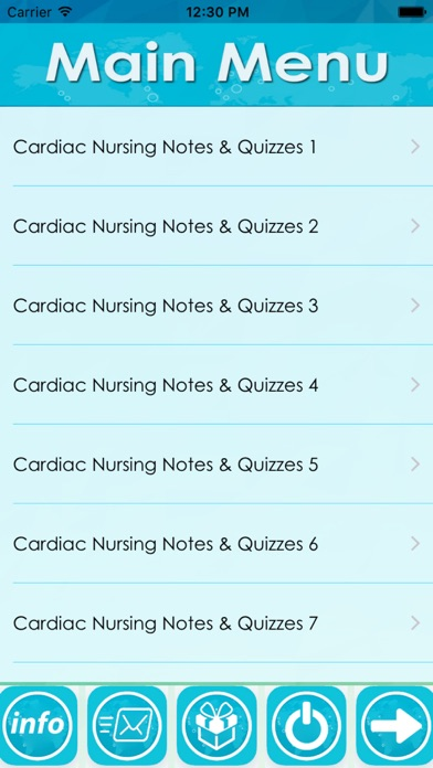 Cardiac Nursing Test Bank-2700 Flashcards & Q&A Screenshot on iOS