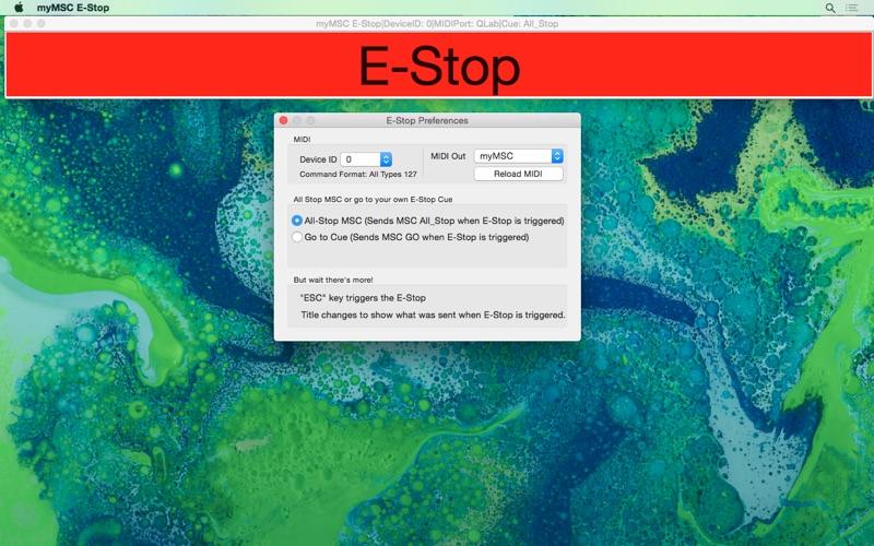 myMSC E-Stop скриншот программы 2