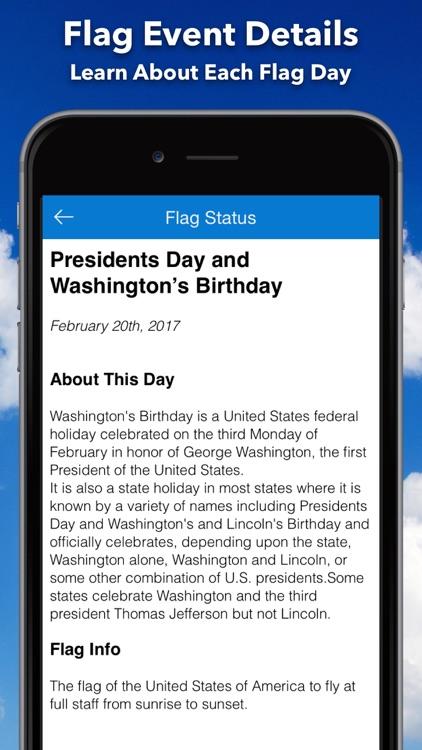 Flag Day - US Flag Calendar screenshot-3