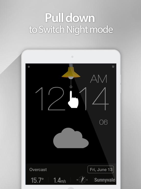 Screenshot #6 pour Red Clock.