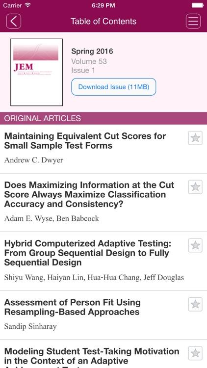 Journal of Educational Measurement screenshot-3
