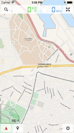 marokko offline karten und gps navigation im app store. Black Bedroom Furniture Sets. Home Design Ideas