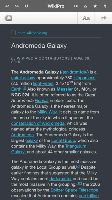 Wiki Pro ウィキプロ - 新しいモバイル読書やブラウザツールのおすすめ画像4
