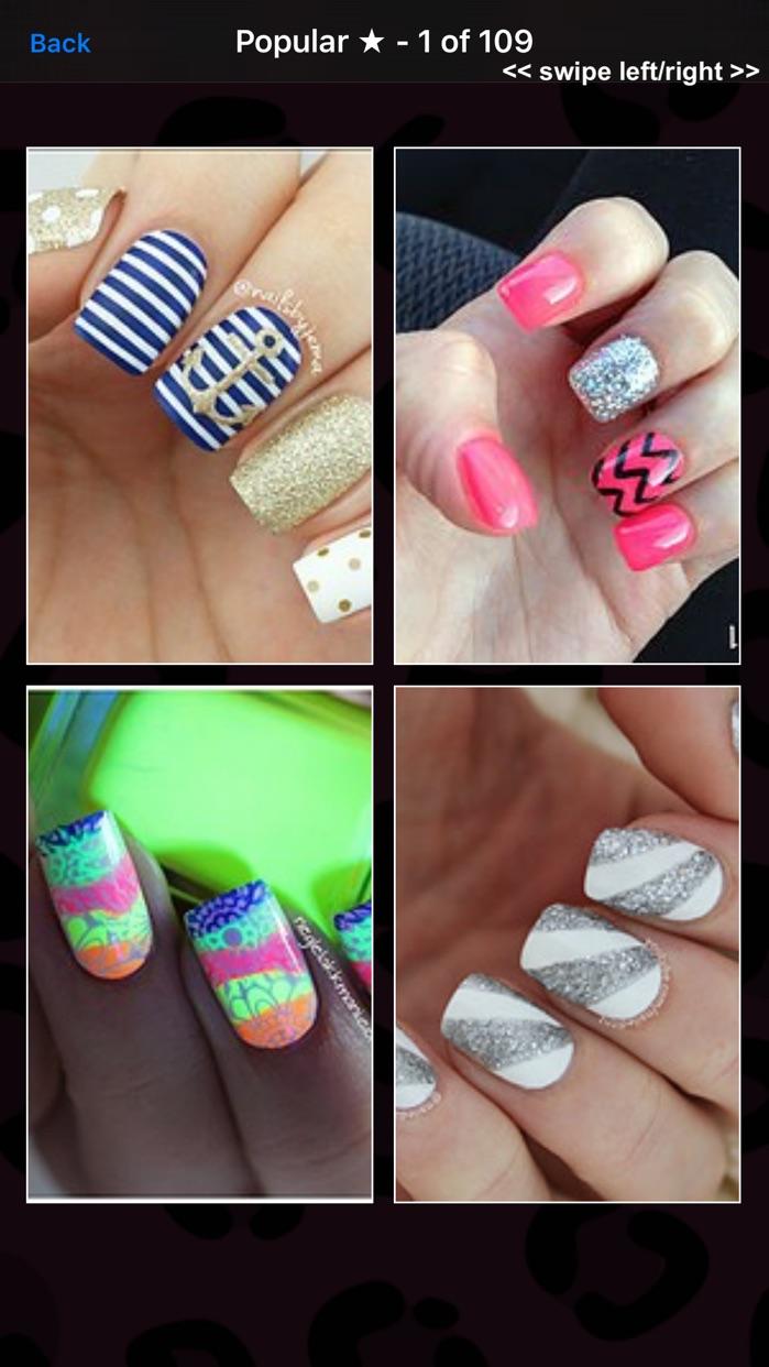 Nail Salon Designs - Polish, Manicures, Makeovers Screenshot