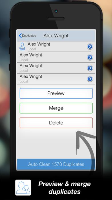 Tuneup Contacts screenshot
