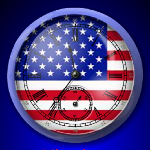 3D American Analogue Alarm Clock icon
