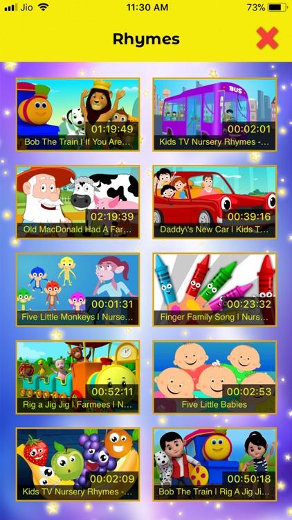 Top 100 Nursery Rhymes screenshot-5