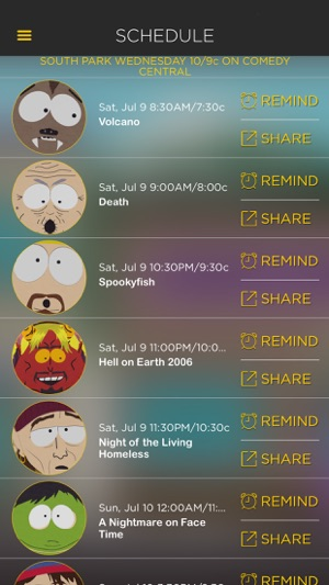 The Official South Park App on the App Store