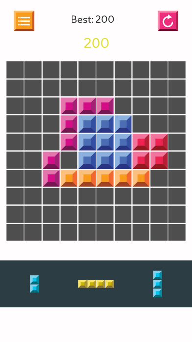 Block Puzzle - Fruit Legend jigsaw logic grid fit screenshot two