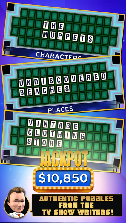 Wheel of Fortune (Official) - Endless Word Puzzles from America's #1 TV Game Show screenshot-1