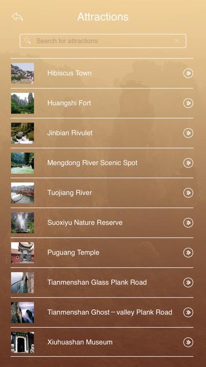 Zhangjiajie National Forest Park Tourism Guide