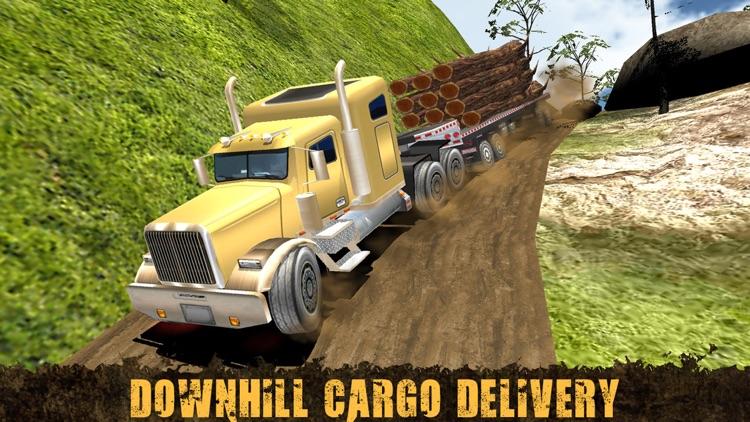 Extreme Off-Road Cargo Truck Driving Simulator 3D screenshot-3